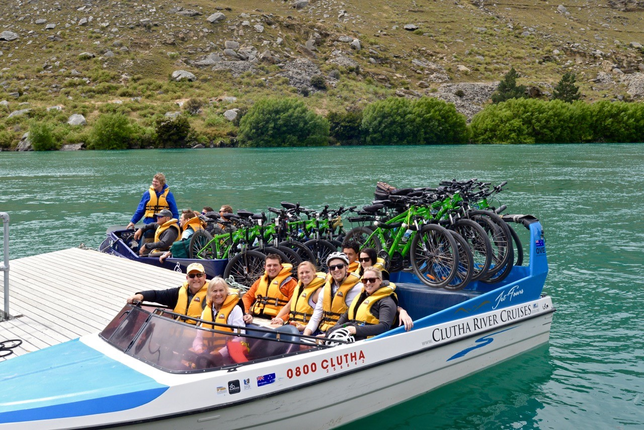 Bike It Now! Bikes, Roxburgh Gorge Trail, Jetboat shuttle